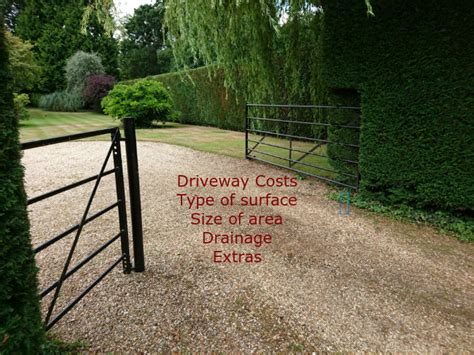 how much does a new driveway cost driveways cost driveway wise