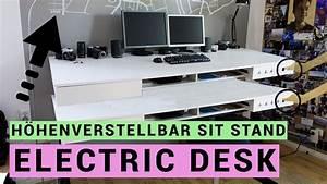 Schreibtisch Selbst Bauen : elektrischen schreibtisch selber bauen sit stand desk ~ A.2002-acura-tl-radio.info Haus und Dekorationen