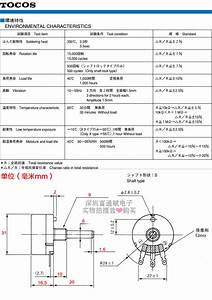 Genuine Imports Of Japan Tocos Potentiometer Rv30yn20s