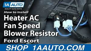 How To Replace Blower Motor Resistor 91
