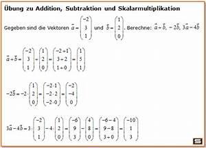 Gestreckte Länge Berechnen Aufgaben Mit Lösungen : vektorrechnung vektoren multiplizieren l nge eines vektors ~ Themetempest.com Abrechnung