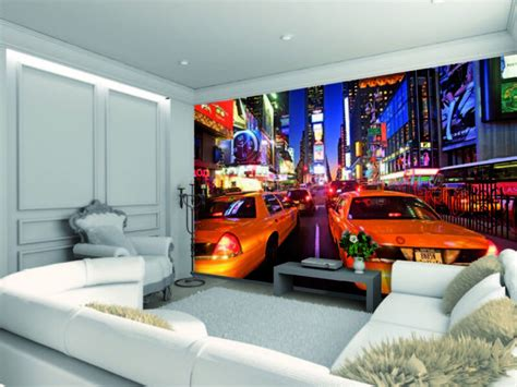 New York Bedroom Wallpaper Ebay by Wallpaper Mural New York Taxi Photo Wall Paper Poster
