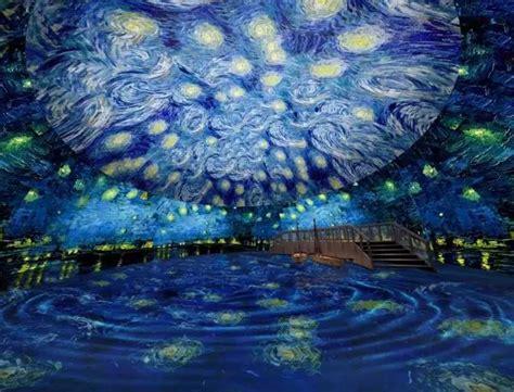 immersive van gogh art show lands  town  sept