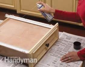 how to fix kitchen cabinet drawers home repair how to fix kitchen cabinets the family handyman 8653