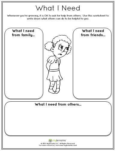 grief worksheets homeschooldressage