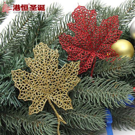 christmas tree decorations cm glitter powder banana leaf