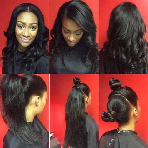 Versatile Sew In Hairstyles by Flip Method Two Part Vixen Versatile Sew In Weave