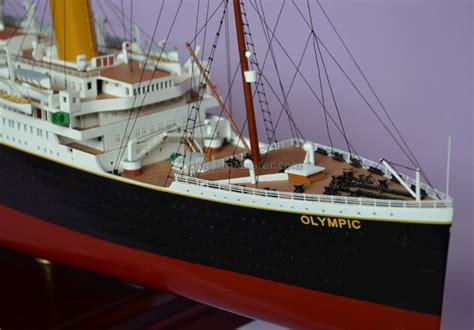 rms olympic ocean liner replica model ship