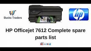 Hp Officejet 6500a Plus Parts List