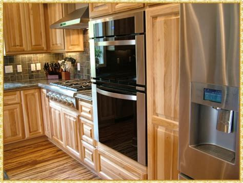 Hickory Kitchen Cabinets Wholesale by How To Clean Yellowed Hickory Kitchen Cabinets Loccie