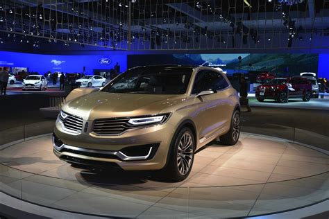 2019 Lincoln Mkx At Beijing Motor Show by 2014 La Auto Show Lincoln Mkx Concept Shows Dynamic Leds