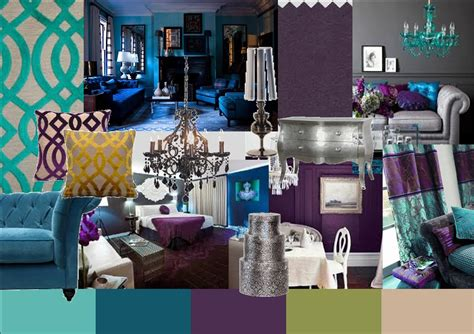 Peacock Color Palette  Latest Projects & News Bedroom