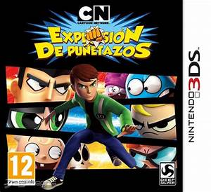 Cartoon Network Explosiu00f3n De Puu00f1etazos Para 3ds 3djuegos