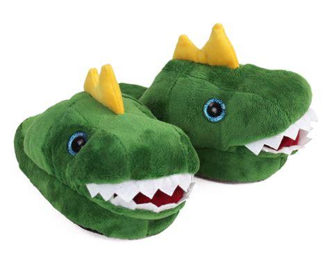 kids dinosaur slippers