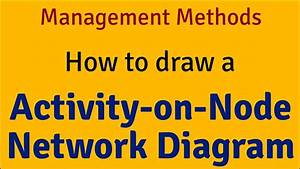 How To Draw Activity-on-node Network Diagram