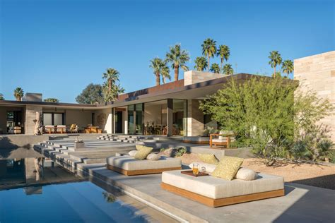 R Home Design Palm Desert : Exquisite Modern Desert Home Captivates In Palm Springs
