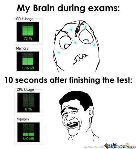 Exams Meme - rmx exam fuuuuuuuuuck by olddoghater meme center