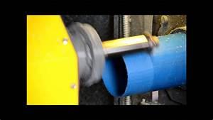 Plastic Pvc Pp Pipe Threading Machine