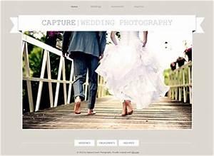 Wedding photographer website template wix for Best wedding photography websites