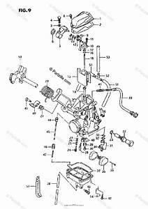 Suzuki Motorcycle 1995 Oem Parts Diagram For Carburetor