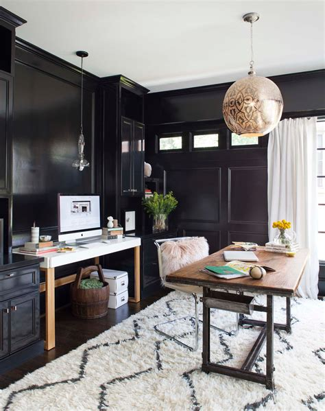 an outdated porch becomes a glamorous home office photos