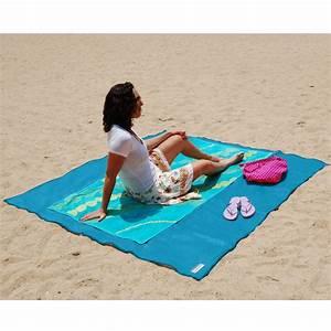 the two person sandless beach mat hammacher schlemmer With tapis de yoga avec canapé canada