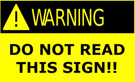 Trigger Warnings The Latest Innovation From The Lamest