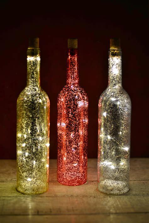 lighted wine bottles 3 led lighted wine bottles battery operated