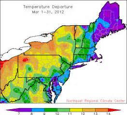 Northeast Region Climate and Weather
