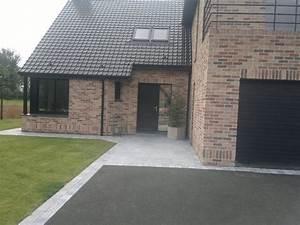 les entrees de garage en enrobe entree maison With superior idee amenagement terrasse exterieure 8 paysage decors nos allees et entrees de maison paysage