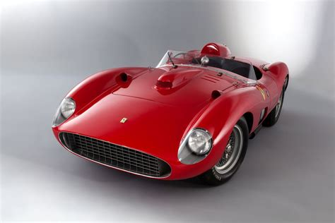 It's a legendary rivalry on the field: 1957 Ferrari 335 Sport Scaglietti Spyder For Sale - AAA