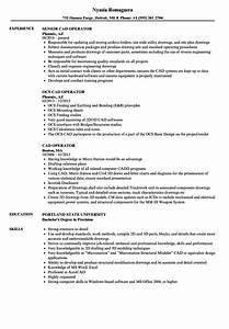 Customer Relation Manager Resume Cad Operator Resume Samples Velvet Jobs