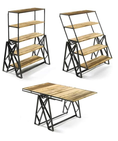 Swing Table by Swing Convertible Table Shelf Dudeiwantthat