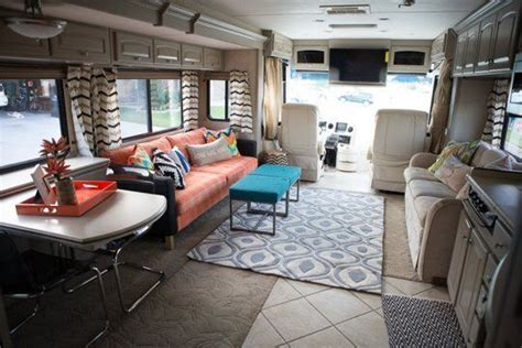 pin  michelle  rv makeover remodeled campers rv