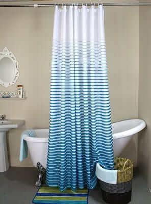 Dusche Mit Duschvorhang by Duschvorhang Und Duschspinne Die Waschbare