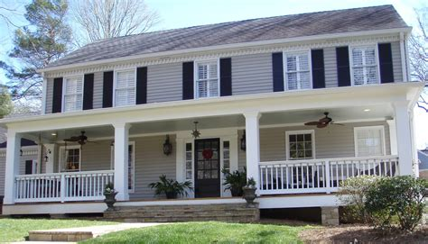 Colonial Home Design Ideas by Front Porch Addition Colonial Home Design Ideas