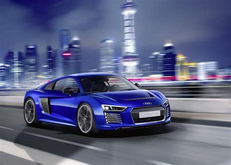 Audi Reveals R8 E-tron Piloted Driving Concept