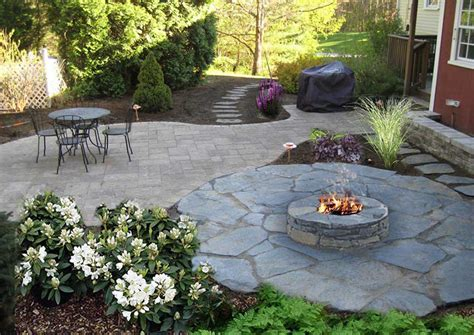 best of backyard landscaping ideas with pit nh
