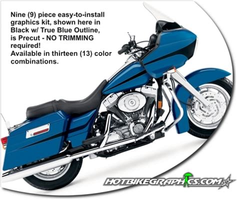 Davidson Vinyl Graphics by Harley Davidson Road Glide Graphics Kit 2