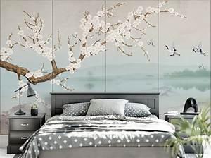 decouvrez notre nouvelle collection de tapisserie With chambre bébé design avec parfum fleur de musc