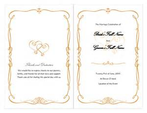 wedding bulletin covers luxury gold border wedding invitation wording etiquette