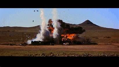 Road Gifs Warrior Explosion Animated Dawn Dead
