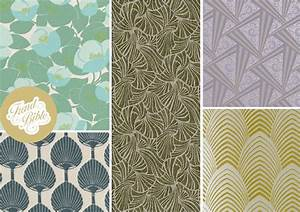 Papier Peint Art Nouveau : art deco inspired wallpaper wallpapersafari ~ Dailycaller-alerts.com Idées de Décoration