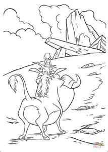 Kleurplaat Pumba by Pumbaa Warthog Coloring Page Free Printable Coloring Pages