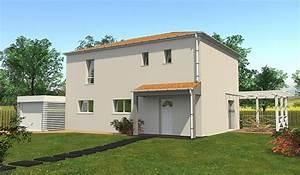 maison traditionnelle a etage 120 m2 4 chambres With plan de maison 120m2 12 constructeur maison toit plat loire maisons ideales