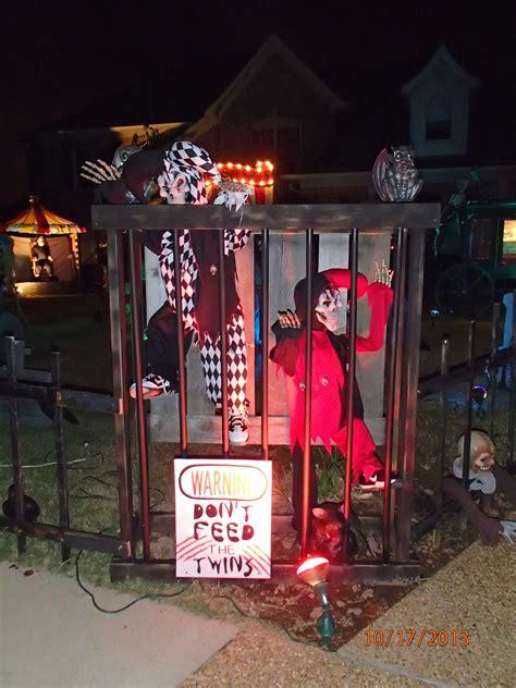 brown asylumoutdoor halloween decorationscarnival