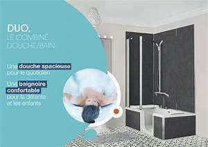 Duo Kinedo Baignoire Douche : baignoire duo kinedo free la baignoire praticable pour ~ Premium-room.com Idées de Décoration
