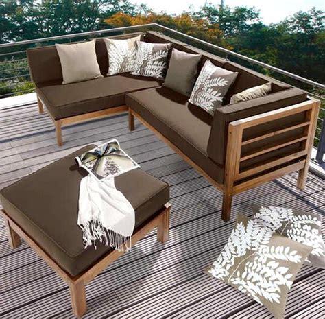 ahsap balkon teras koltuk takimi ev icin balkon mobilya
