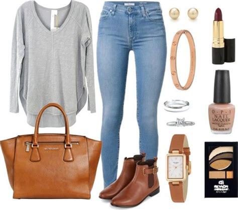 Outfits Con Jeans Claros Y Botines