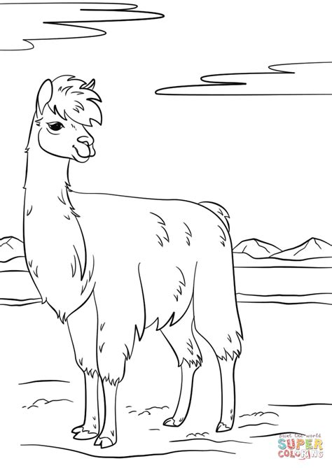 disegni da colorare fortnite lama llama coloring page free printable coloring pages